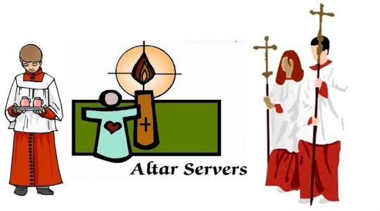 We need to recruit more Altar Servers