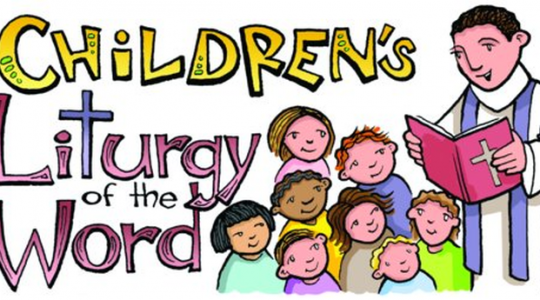 Reading at Children's Mass
