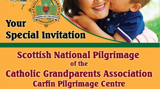 Catholic Grandparents' Pilgrimage to Carfin