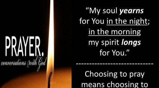 My Soul is Yearning for You, My God (CCC 27-43)