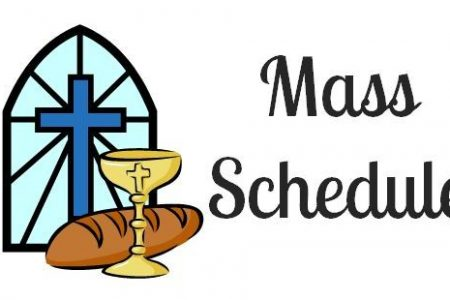 New Sunday Mass Times