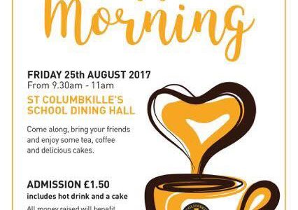 Coffee Morning in St Columbkille's Primary School