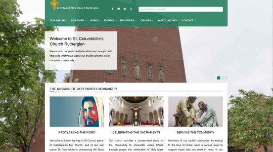 Welcome to St Columbkille's Parish Website