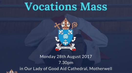Diocesan Mass for Vocations