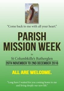 Parish Mission 2016