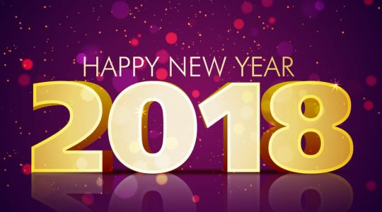 2018 New Year Message