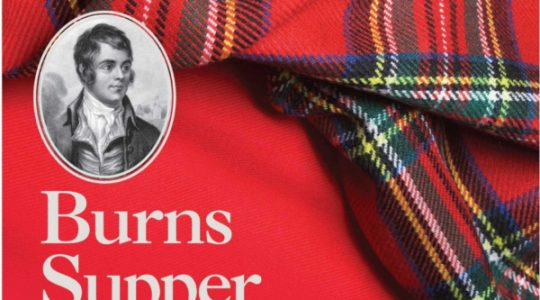 Burns Supper for HCPT