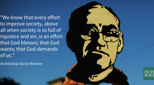 Film Screening of 'The Claim - Blessed Oscar Romero, His People & Pope Francis'