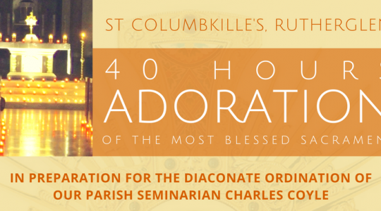 Forty Hours Adoration of the Blessed Sacrament