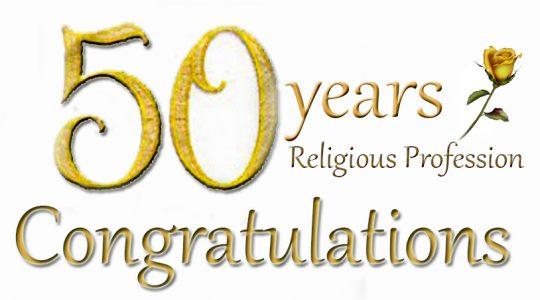 Golden Jubilee of Sr Ann McAllister