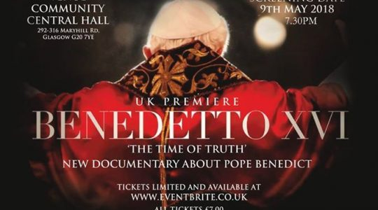 New Documentary on Pope Benedict XVI