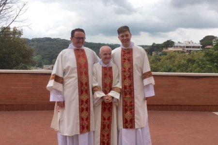 Photographs of Diaconate Ordination