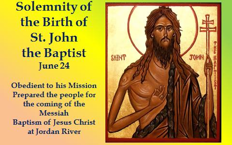 Nativity of John The Baptist