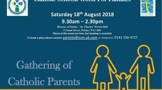 Gathering of Catholic School Parents