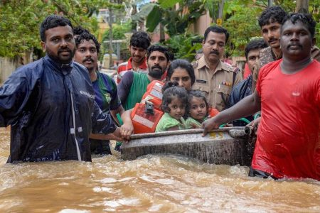 FLOODS IN KERALA, INDIA