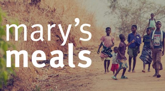 Collection of unwanted clothing for Mary's Meals