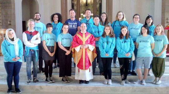 Project Truth Mass in St Columbkille's