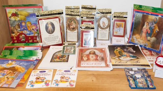 Buy Religious Christmas Cards and support our Parish