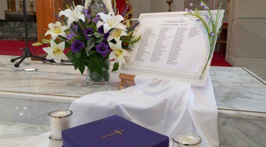 November Lists of Holy Souls