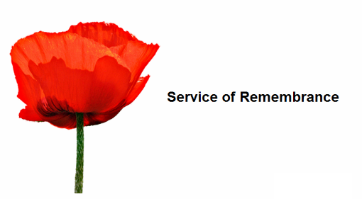 Remembrance Service at Rutherglen Cenotaph