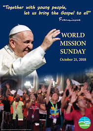 World Mission Sunday - 21 October 2018