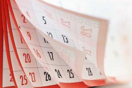 Sponsorship for Parish Calendar 2020