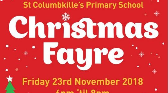 St Columbkille's Primary School Christmas Fayre