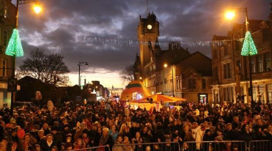 Rutherglen Christmas Lights Switch-on