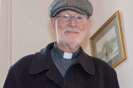 Trip to Iona to celebrate Father Hennessy's Golden Jubilee