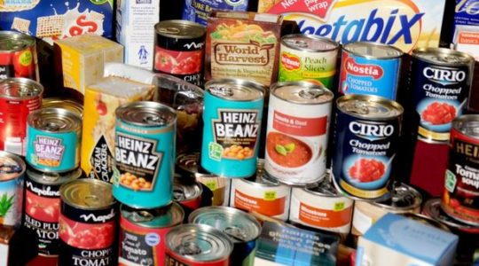 SVDP Appeal for Food Donations