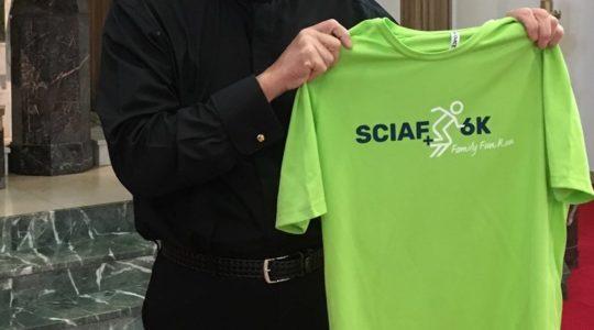 Deacon Bill - sponsorship for SCIAF 6K Run