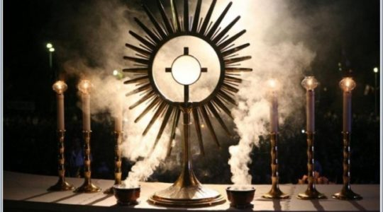 40 Hours Adoration of the Blessed Sacrament