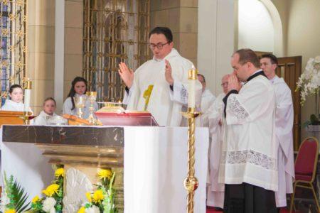 Fr Coyle's First Mass