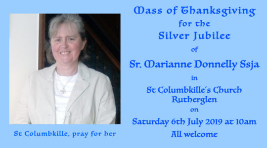 Silver Jubilee Mass of Thanksgiving