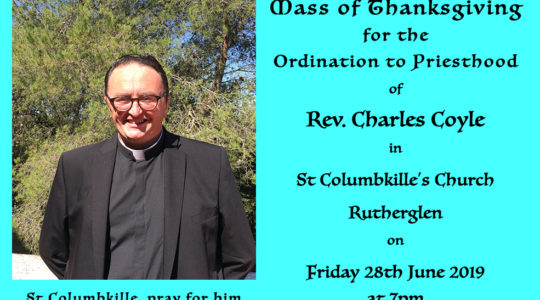 Rev. Charles Coyle Mass of Thanksgiving
