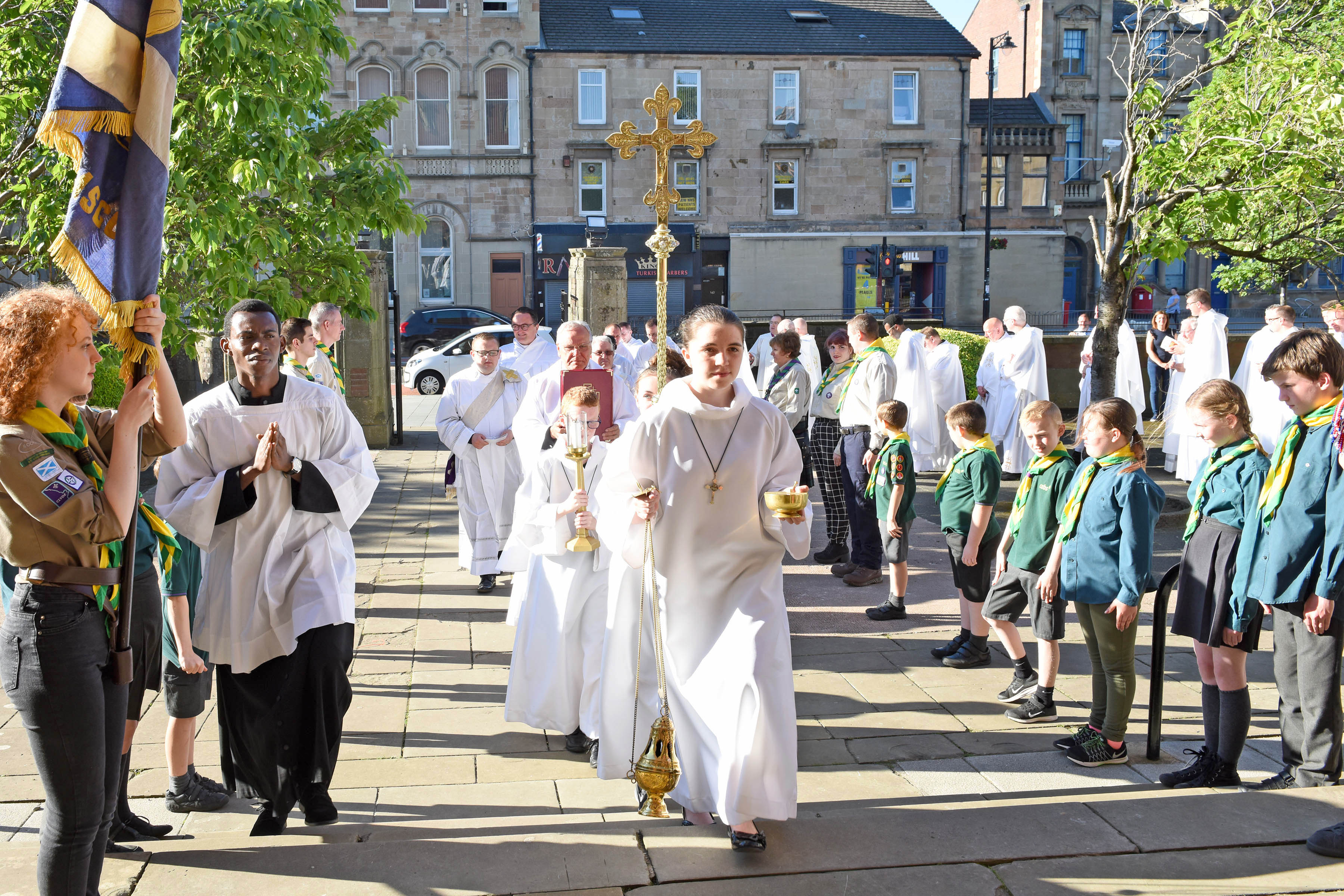 Ordination to the Priesthood of Rev. Charles Coyle for the Diocese of Motherwell on The Vigil of the Sacred Heart, 27th June 2019 at St Columbkille's, Rutherglen.