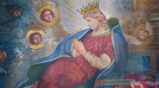 Frescoes in Our Lady's Chapel