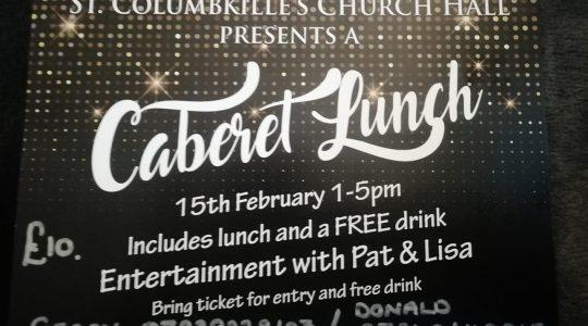 Cabaret Lunch