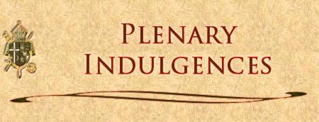 Church grants special plenary indulgence