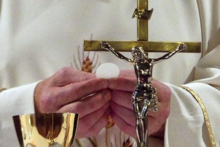 Prayers for when Holy Mass cannot be celebrated publicly