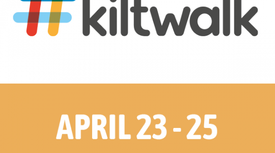 'Pave the Way - Be a Holy Sole' – KILTWALK 2021